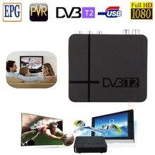 DVB T2 Тюнер MPEG4 DVB-T2 РОССИЯ/ЕВРОПА/ТАИЛАНД HD Совместимость С H.264 ТВ Приемник Вт/RCA/HDMI PAL/NTSC Автоматическое Преобразование box