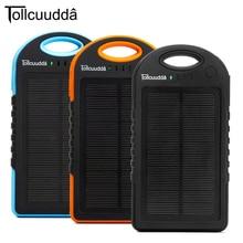 CNPOWER Original Tollcuudda 12000MAH Solar Power Bank Carregador Portatil Para Celular Paverbank External Battery Charger LJJ629