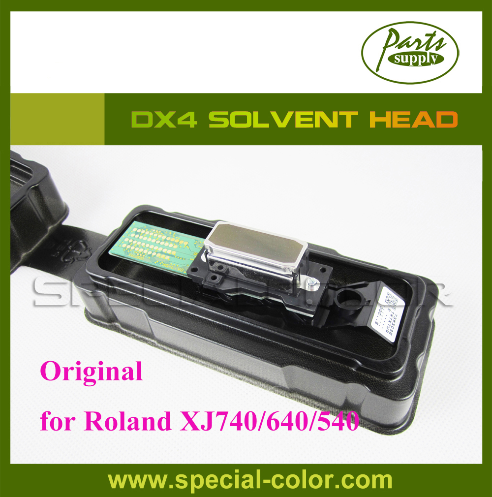 [Get 2pcs DX4 Small Damper as Gift] Roland DX4 Eco Solvent Printhead for Epson DX4 Printhead Roland XJ740/640/540 permanent roland xj 640 xj 740 eco solvent chips 6pcs set cmyklclm printer parts