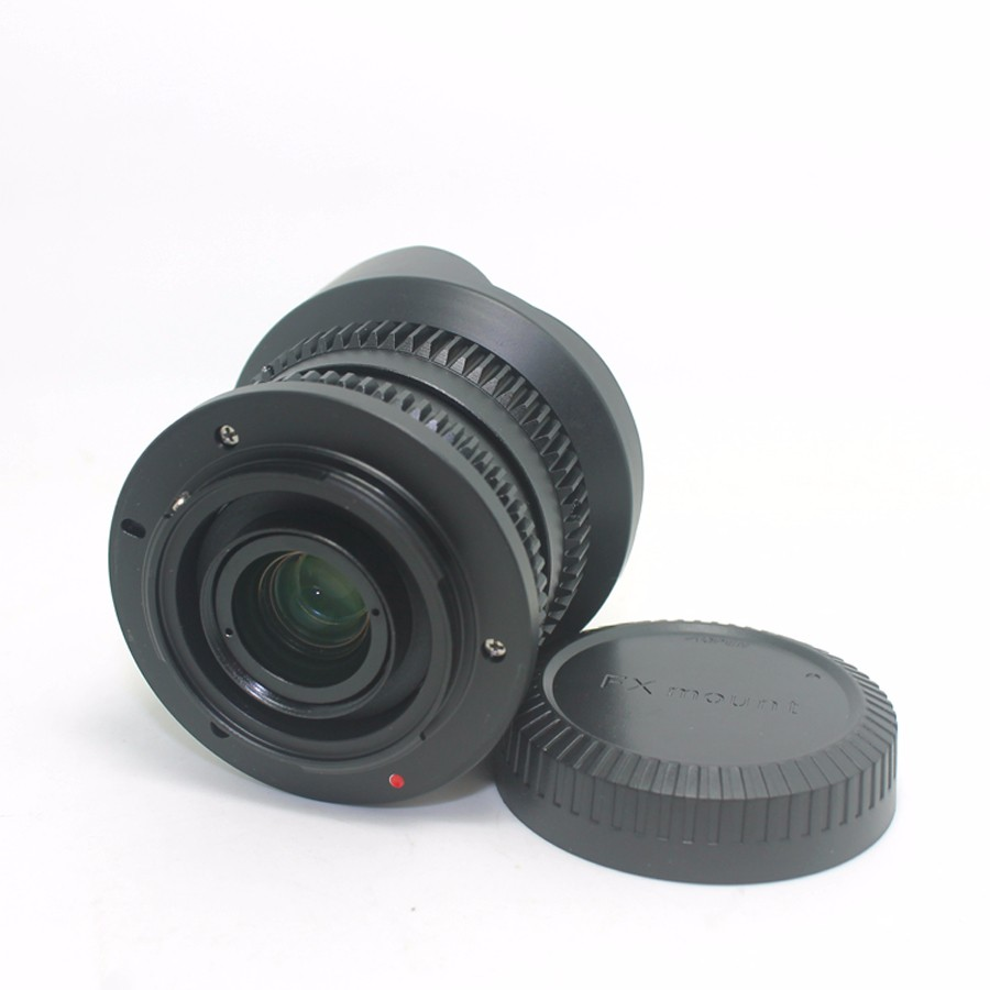 8mm F2.8 Ultra Wide Angle Fisheye Lens for Sony NEX E-mount A7 A6300 A6000 /Macro 4/3 M4/3 GH4 BMPCC /Fuji FX DSLR Camera 5