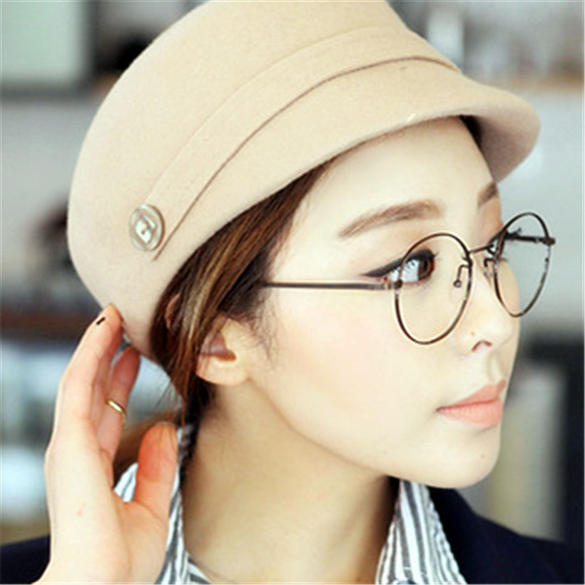 aliexpresscom buy round spectacle frames women men optical frame transparent glasses for harry potter glasses frames with clear glass from reliable