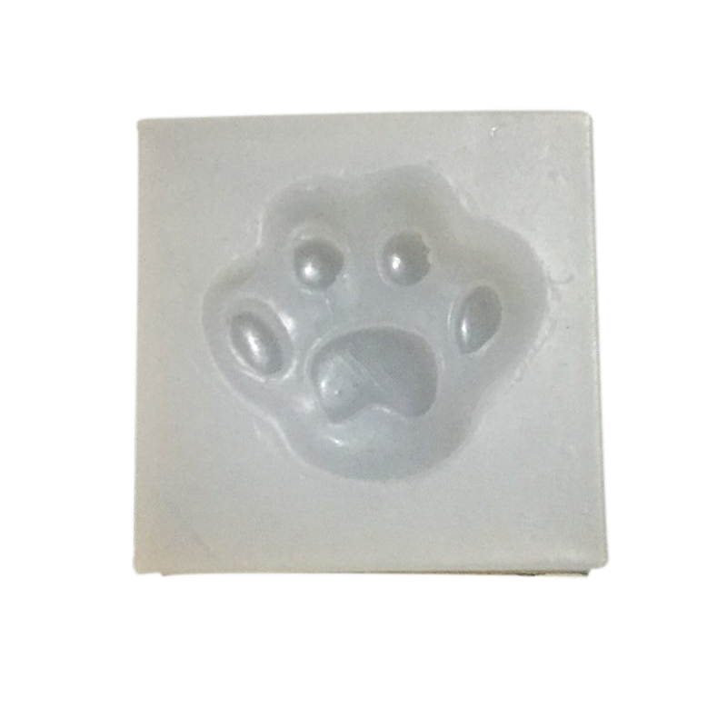 DIY Silicone Mold Silicon Dog Paw Molding Jewelry Mold DIY Mold Leisure Creative