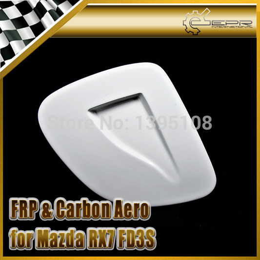 EPR Car Styling For Mazda RX7 FD3S FRP Fiber Glass Vented Headlight Cover LHS TYPE 2