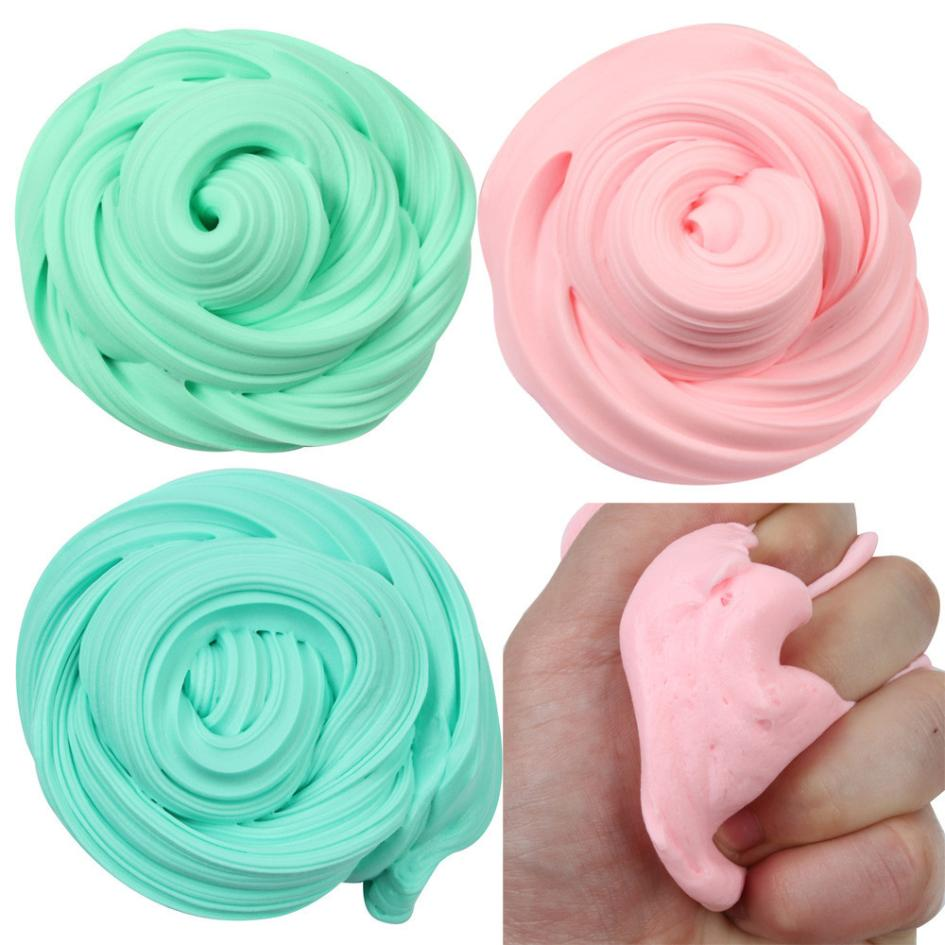 Squishy slow rising Beautiful Color Cloud Slime Squishy Putty Scented Stress Kids Clay Toy squishy boys anti stress funny #25