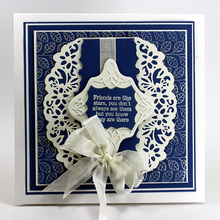 New Lace Metal Cutting Dies for Scrapbooking DIY Album Embossing Folder Paper Card Cake Maker Template Decor Stencils 129*42mm пуговицы diy 42mm