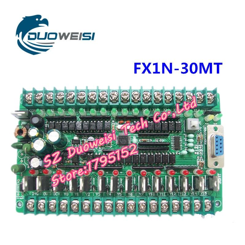 PLC IPC board microcontroller control board PLC FX1N-30MT FX1N 30MT plc srt2 od04