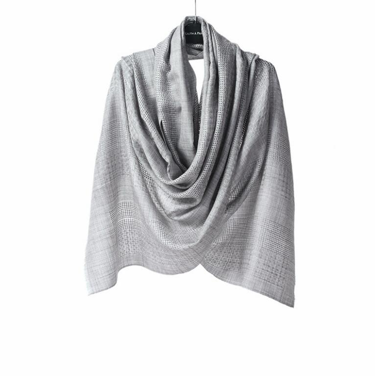Pashmina Scarf Wool Scarf Luxury Brand High Quality Natural Fabric Winter Wool Scarf Women Free Shipping