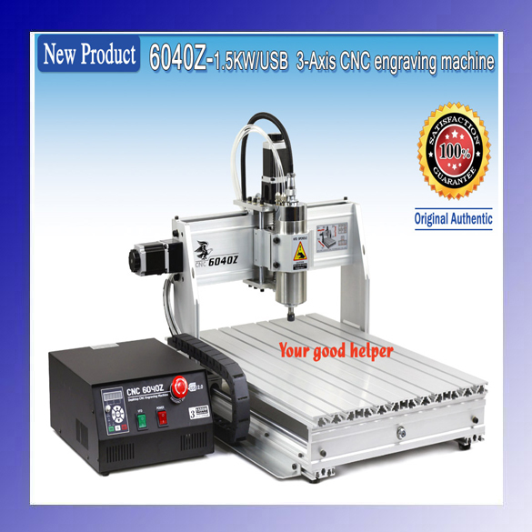 New USB Mach3 3 axis 6040 1500W CNC ROUTER ENGRAVER MILLING/ ENGRAVING MACHINE 1500w 4 axis cnc engraver engraving machine cnc 6040 with usb port