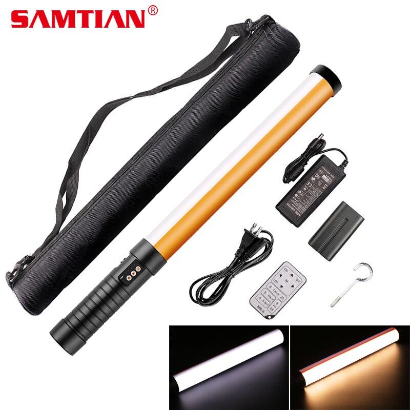 SAMTIAN STL-900 Professionnel led éclairage vidéo Magique led tube lampe photo pour Studio Caméra Tirer 298 led s CRI95 3200 K/5600 K