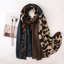 Women Scarf Leopard Print Scarf Shawl Pashmina Women Scarf Ethnic Wrap Pashmina Bufandas Wraps and Shawls Hijab Muffler Caps