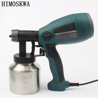 800ml 2 5mm 300w Detachable High Pressure Electric Spray Gun Spray Nozzle Adjustable Type Control Flow