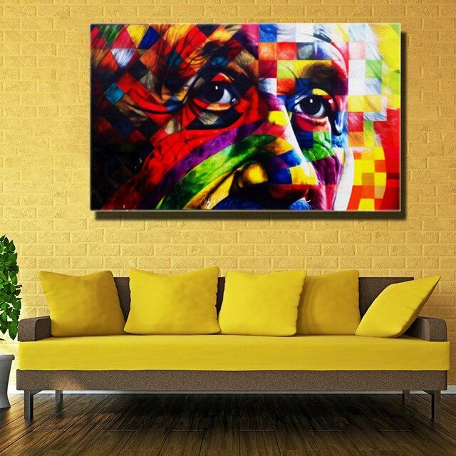 1 Шт. Альберт Эйнштейн Unframed Искусство печать холст Оптовая Высокое Качество Картины Для Украшения
