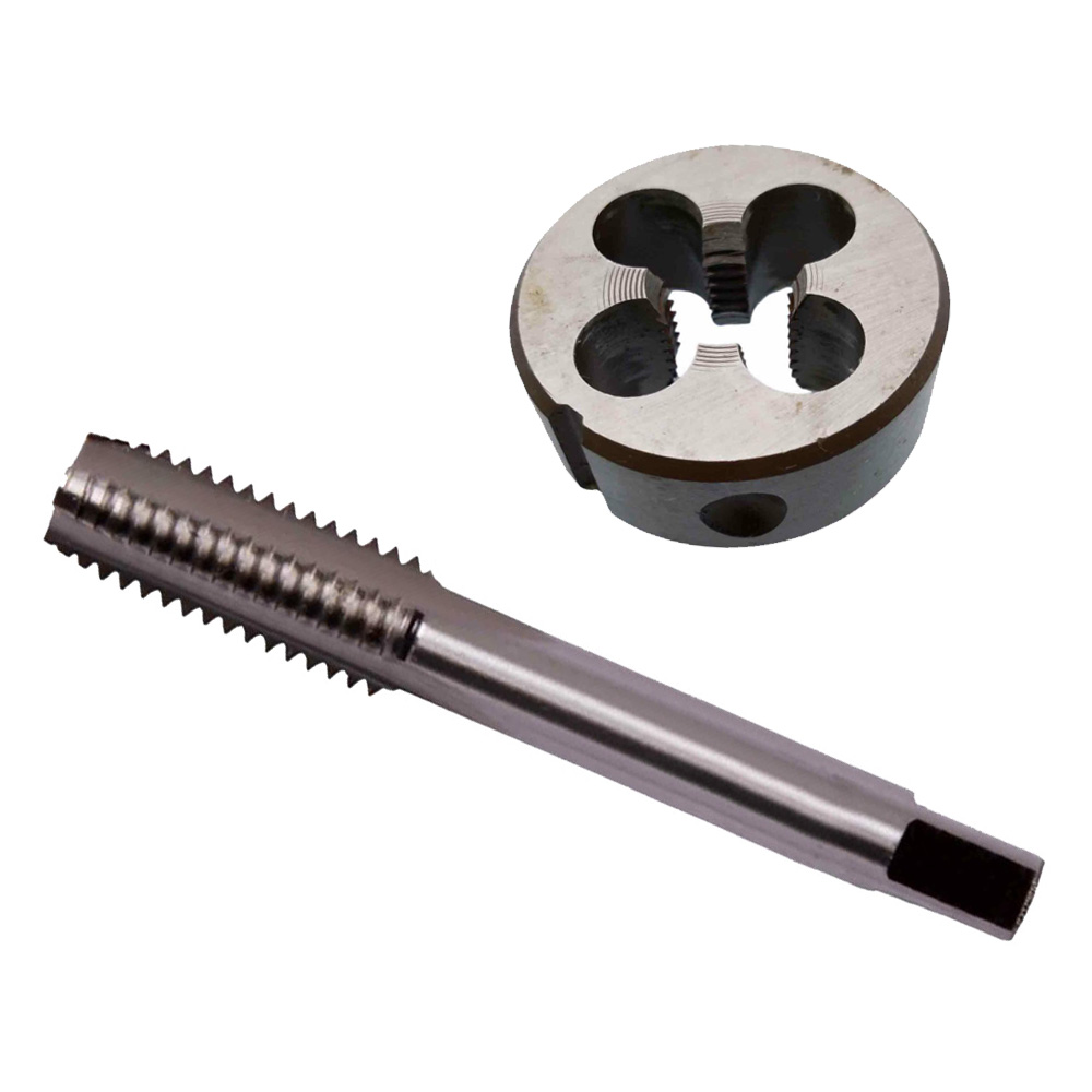 1set HSS M17 x 1.5 mm Plug Right Hand Tap and Die Metric Threading Tool