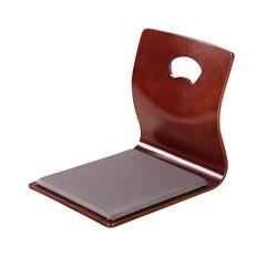 (4 pz/lotto) Asiatica Mobili Sedia Pavimento Giapponese Fan-Forma Style Living Room Furniture Tatami Zaisu Sedia Senza Gambe disegno
