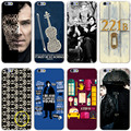 Sherlock Dr Watson home Hard Transparent Cover Case for iPhone 7 7 Plus 6 6S Plus 5 5S SE 5C 4 4S