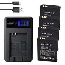 4 шт 1900 mAh SLB-10A SLB10A SLB 10A Батарея+ ЖК-дисплей Зарядное устройство для samsung EX2F WB800F WB150F WB250F WB550 WB350F WB750 WB500 HZ10W