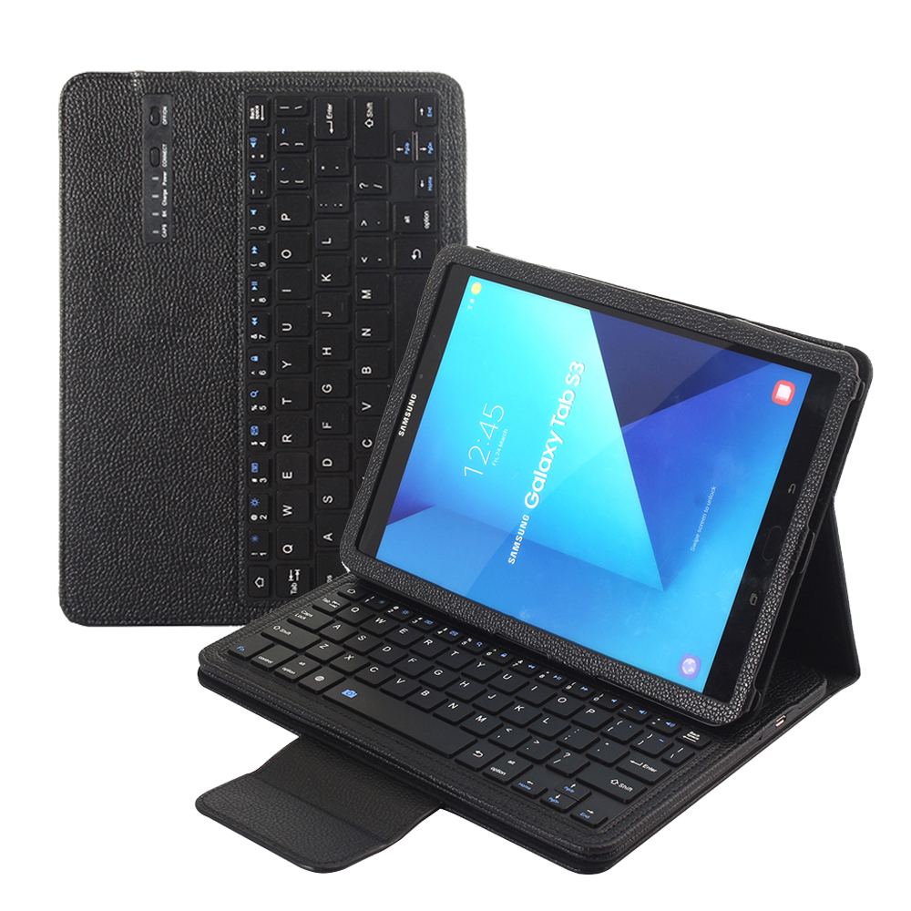 For Samsung Galaxy Tab S3 9.7 T820 T825 T550 T555 T810 T810 Wireless Bluetooth Keyboard Case Tablet Flip Leather Stand Cover+PenFor Samsung Galaxy Tab S3 9.7 T820 T825 T550 T555 T810 T810 Wireless Bluetooth Keyboard Case Tablet Flip Leather Stand Cover+Pen