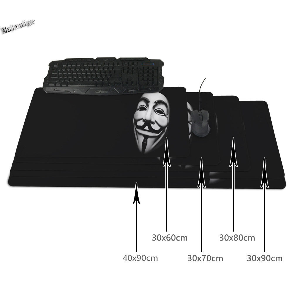 Mairuige Free Shippin for The Batman Joker Gaming Mouse Pad 900 * 400 Mm Locking Edge Mouse Pad for PC Laptop