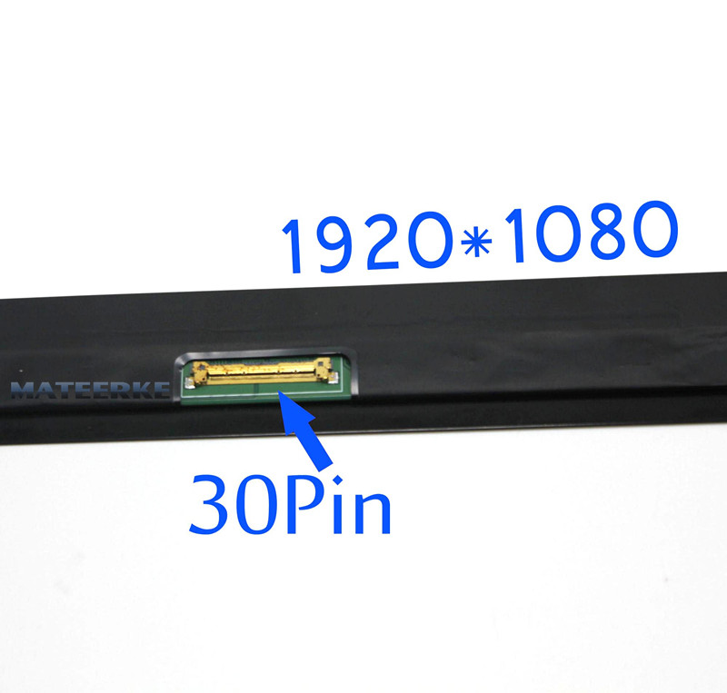 (1920*1080) Full LED LCD Display Assembly For HP For Spectre X360 13 V 13-V series N133HCE-GP1 30pin