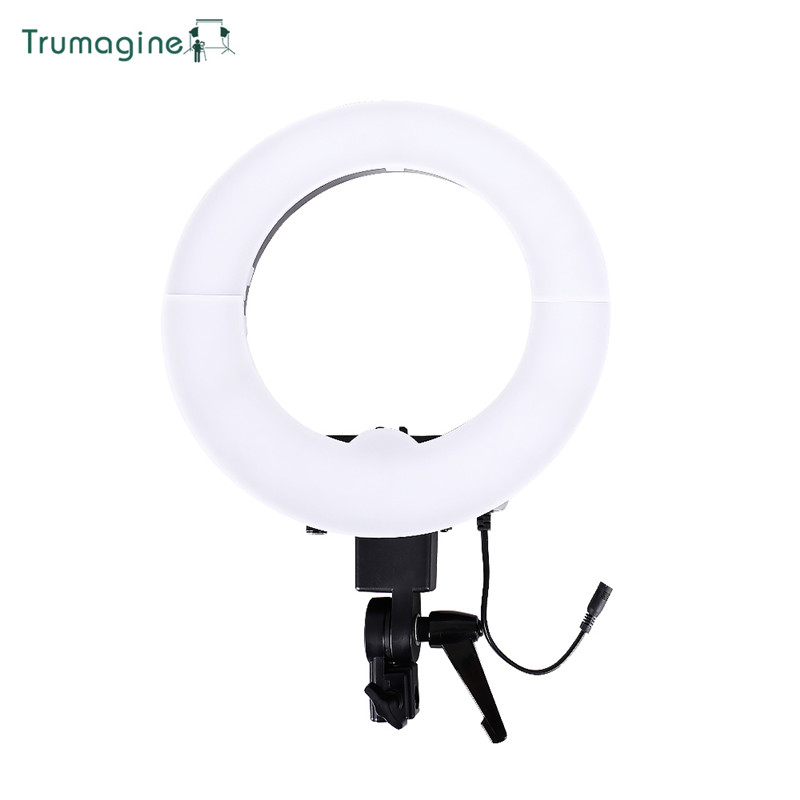 12inch 35W 5500K Photo Studio Led Ring Light Lamp Photography Ring Video Lighting Lamp For Camera Phone in Photographic Lighting from Consumer Electronics