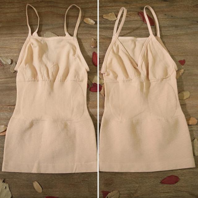 Mới Vest body định hình cơ thể nhớ Sling Shapers MS thân áo Top bụng Áo vest nữ Dùng Thân Thiết