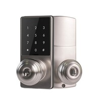 OUTAD New Office Apartment Home Anti Theft Smart Touch Pad Code Lock Security Entry Password Door Lock With Phone APP Control
