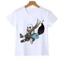 Baby and teens T shirts Summer Kid Undertale Game T-shirt 3D Printing Boy Cloths Short Sleeve Girl Retail Shirts Top Tee Z40-6