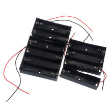 1pcs 18650 Power Battery Storage Case Box Holder Leads With 1 2 3 4 Slots drop shipping 0717(China)