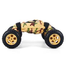 Electric Crawl Off Road Truck High Speed Racing Climbing RC Car 2.4G 4WD 4CH Remote Control Transform Vehicle 2019 trend 360 degree rotation rc remote control car transform truck off road 4x4 with 5 wheels and light