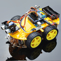 Multifunction Bluetooth Controlled Robot Smart Car Kits For Arduino Free Shipping