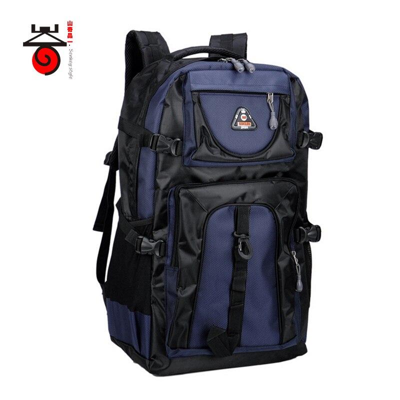 2017 Senkey style 60L Large capacity Travel font b Backpack b font Men font b Women