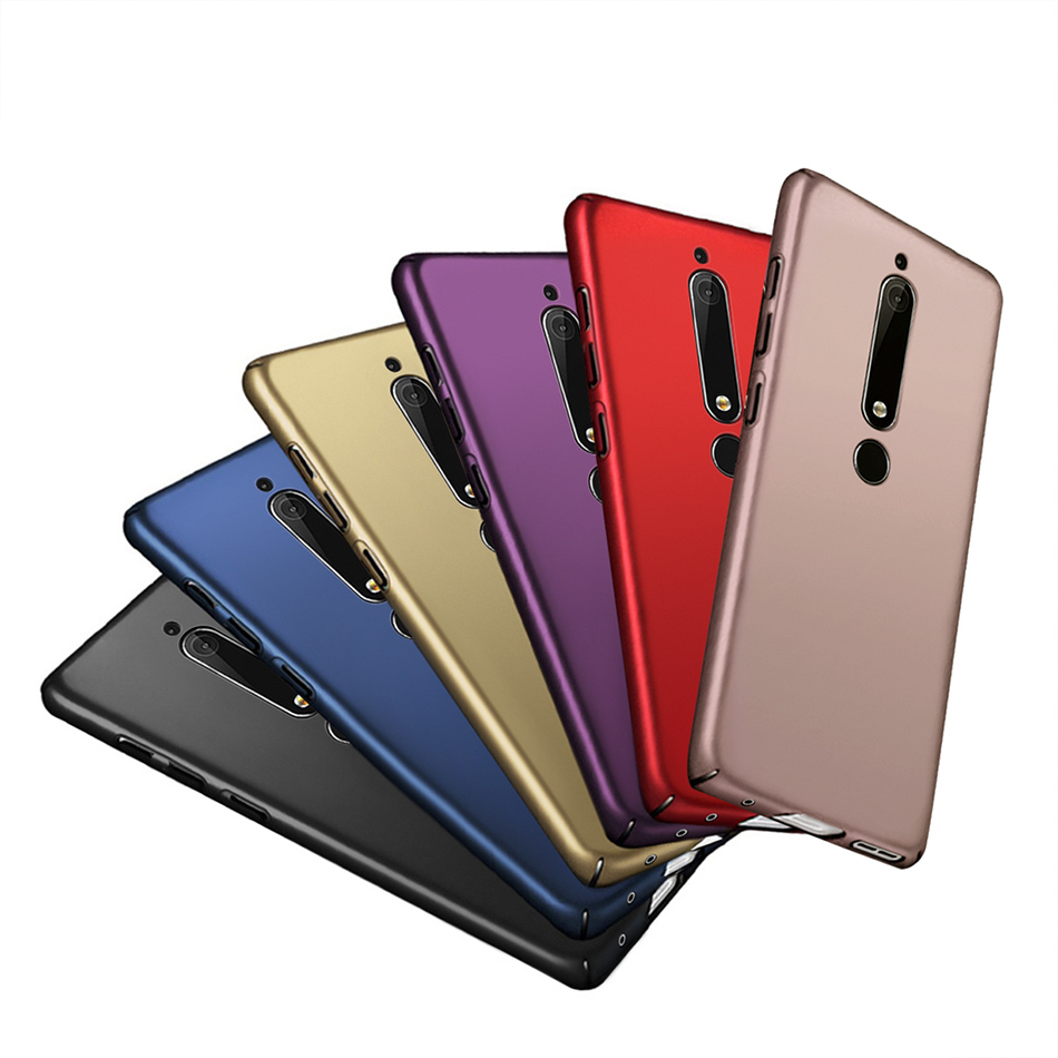 Luxury Ultra Thin Hard Case For <font><b>Nokia</b></font> <font><b>2</b></font> 3 5 6 2017 <font><b>Nokia</b></font> 6.1 7.1 2018 Phone Case 360 Protective <font><b>Back</b></font> <font><b>Cover</b></font> For <font><b>Nokia</b></font> 6 2018 2nd image