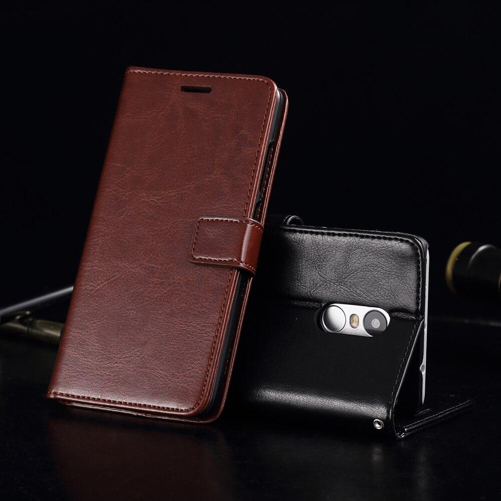 Buatan tangan Untuk Redmi 4x4 Pro Kasus Kulit Mewah Dompet Pemegang - Aksesori dan suku cadang ponsel - Foto 5