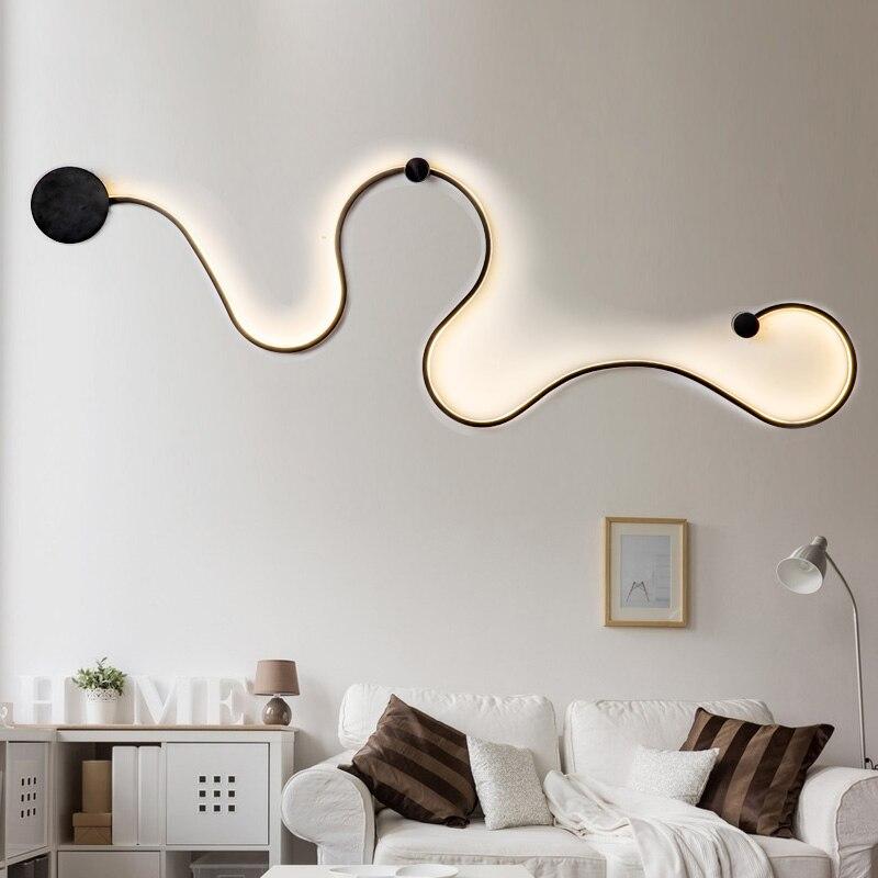 Chandelierrec Modern kid's room led wall lamps for baby bedroom indoor wall lighting fixtures sconce 85-260V snack wall lights