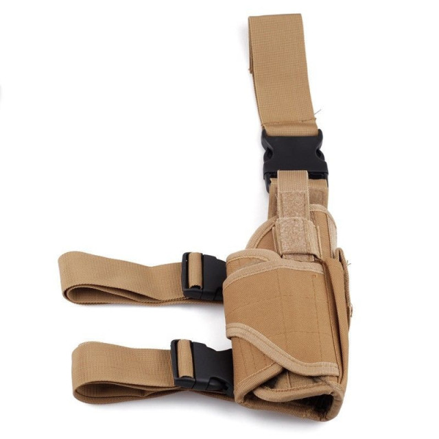 Tactical Tornado Leg Holster Glock Airsoft Pistol Gun Drop Leg Holster Pouch Adjustable Magic Strap Holster For Universal Gun  3