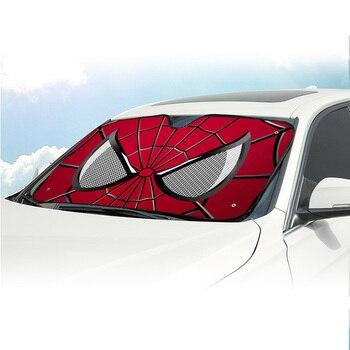 Film De Protection De Pare Brise | Spider Man Avenger Marvel Voiture Pare-brise Pare-soleil Pare-brise Protection Solaire Auto Zonnescherm Parasole Parasol Coche B10