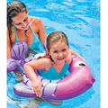 INTEX Children Swim Rings Swimming Laps Ring Float 3-6 Years  Baby Children Rubber Ring Lifebuoys For Boys Girls