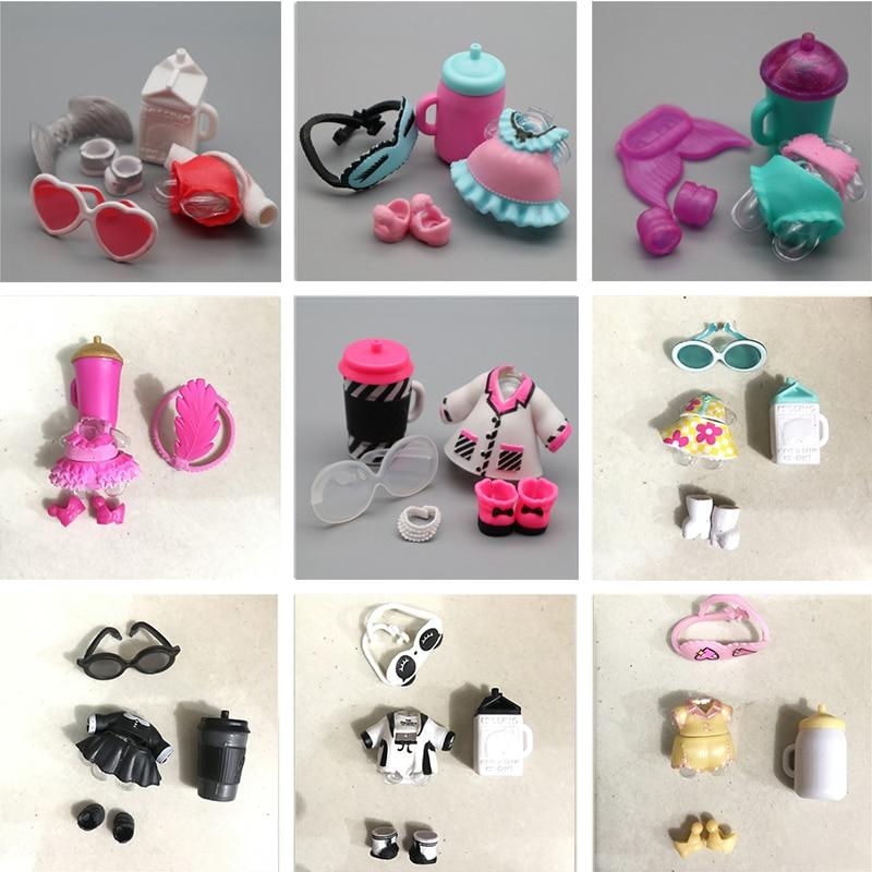 LOL Surprise Dolls accessory unicorn Replacement Outfit Set clothes shoes bottle
