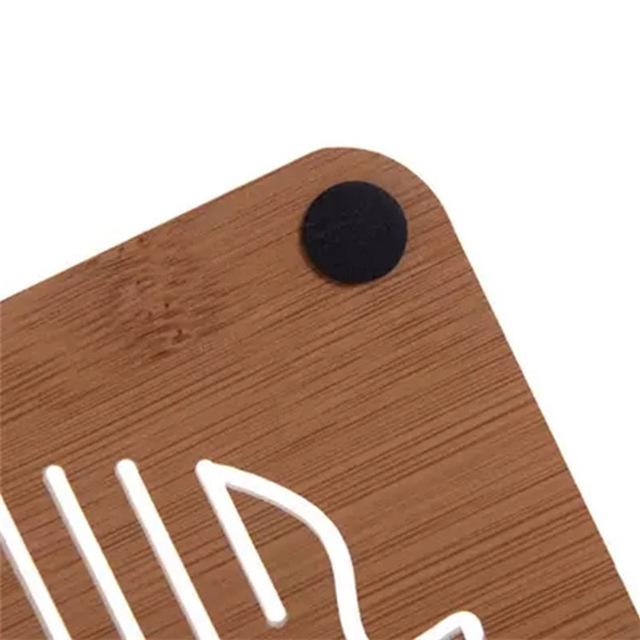 1Pc Wooden Coaster