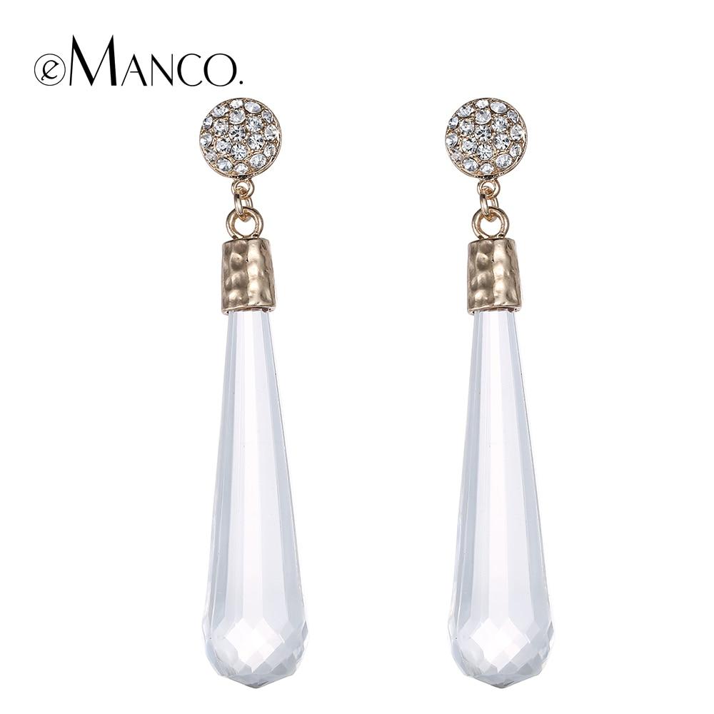 Fantastic Earrings For Women Long Drop Dangle Earrings Copper 18K Gold Plated 2016 New Design Fashion ...