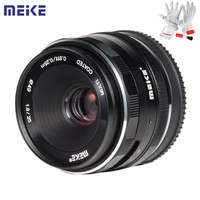 Meike 25mm F1.8 Manual Wide Angle Prime Lens APS C Frame Lens for Sony E Mount / for Fuji / M4/3 Camera A6500 A7 A7II A7R X T30