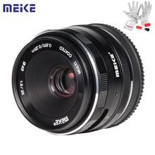 Đế Pin Meike 25 Mm F1.8 Hướng Dẫn Sử Dụng Góc Rộng Ống Kính Prime APS C Khung Cho Sony E Mount/Cho Fuji/ m4/3 Camera A6500 A7 A7II A7R X T30