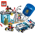 Enlighten 1913 394Pcs City Police Chase Model Building Blocks Kits Toy Bricks Gift Compatible Lepin