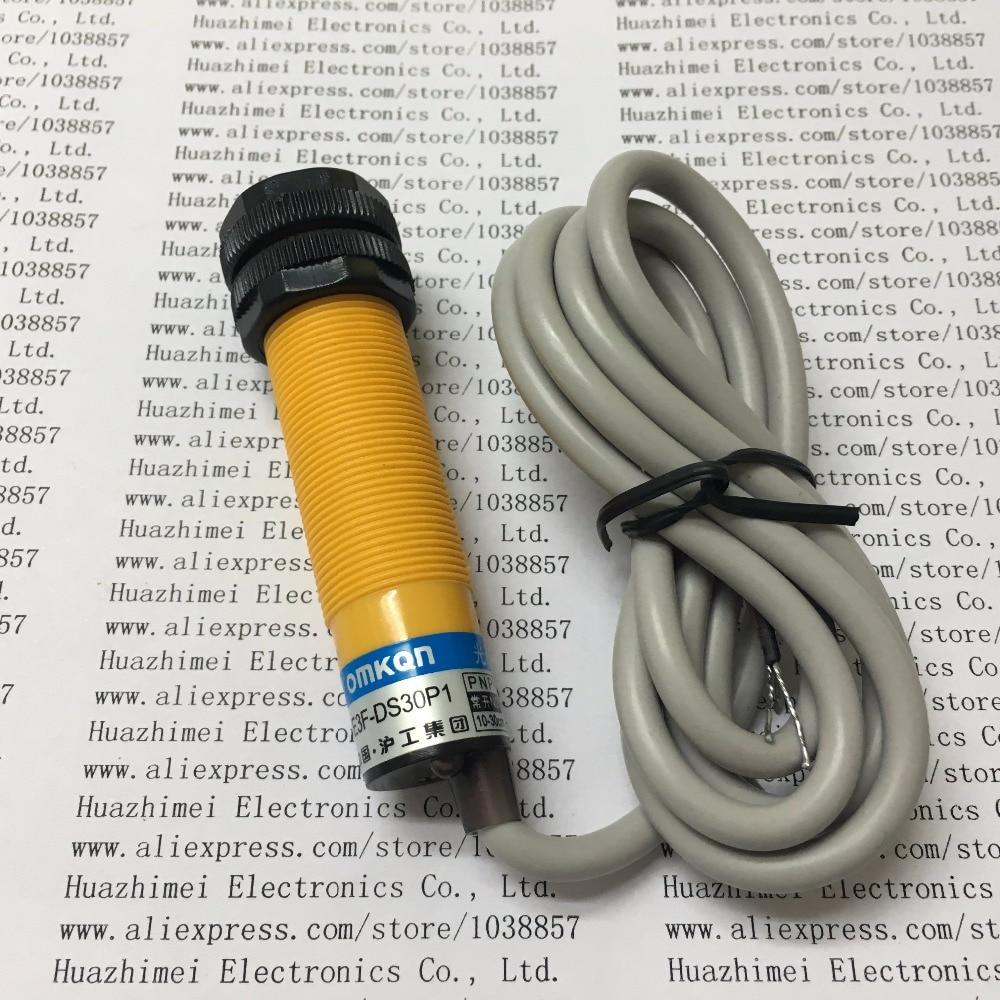 10PCS/LOT Photoelectric switch E3F-DS30P1 30CM PNP e3x da21 s photoelectric switch