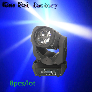 8 teile/los China moving head licht 4x25 W super strahl 4x25 w led moving head