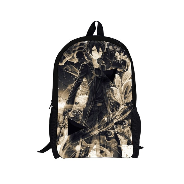 Fashion Cartoon Backpack Men's School Backpacks For High College ...