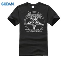 DILDAN T shirt Homme 2018 New 3D Print Fashion High Quality Mens Camiseta Venom The Seven Evil Hell Black Metal cute Tee Shirts(China)
