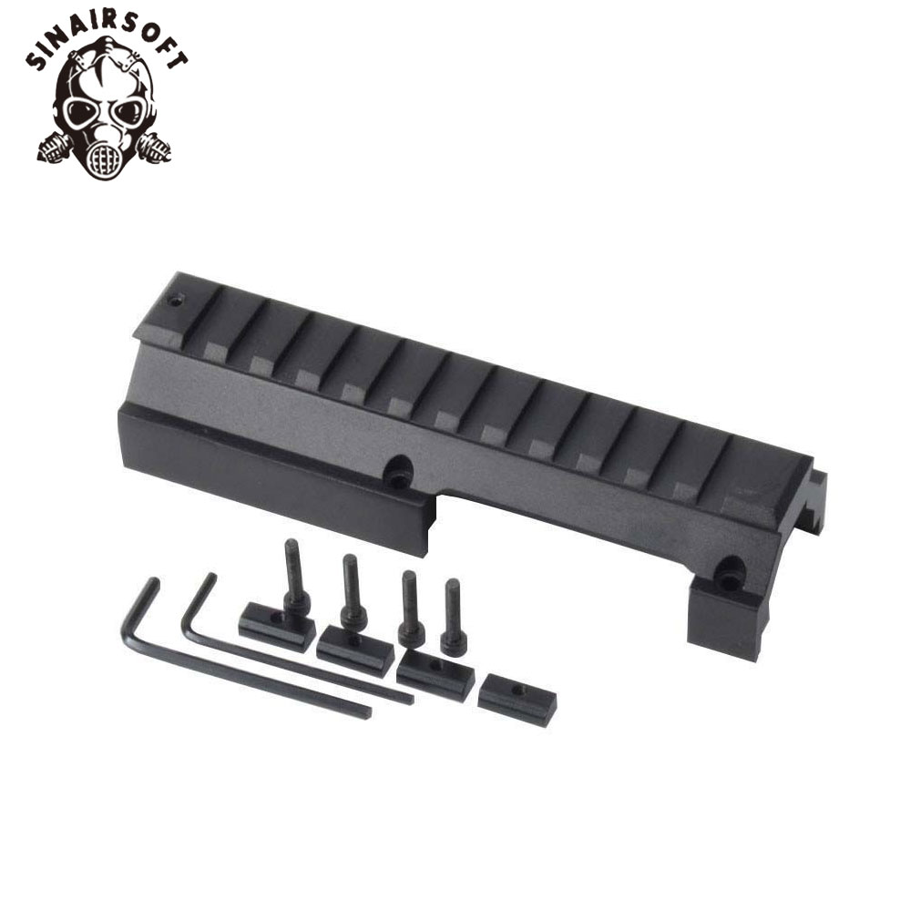 SINAIRSOFT Low Profile Universal Rail Scope Mount For Hk-91 H&k G3 GSG-5 MP5 SP89 Hk-91 93 94 & Cetme Rifles