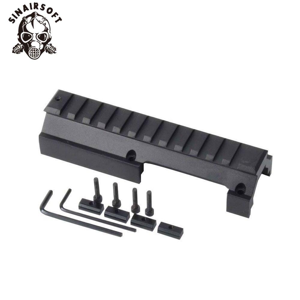 SINAIRSOFT Low Profile Universal Rail Scope Mount For Hk-91 H&k G3 GSG-5 MP5 SP89 Hk-91 93 94 & Cetme Rifles