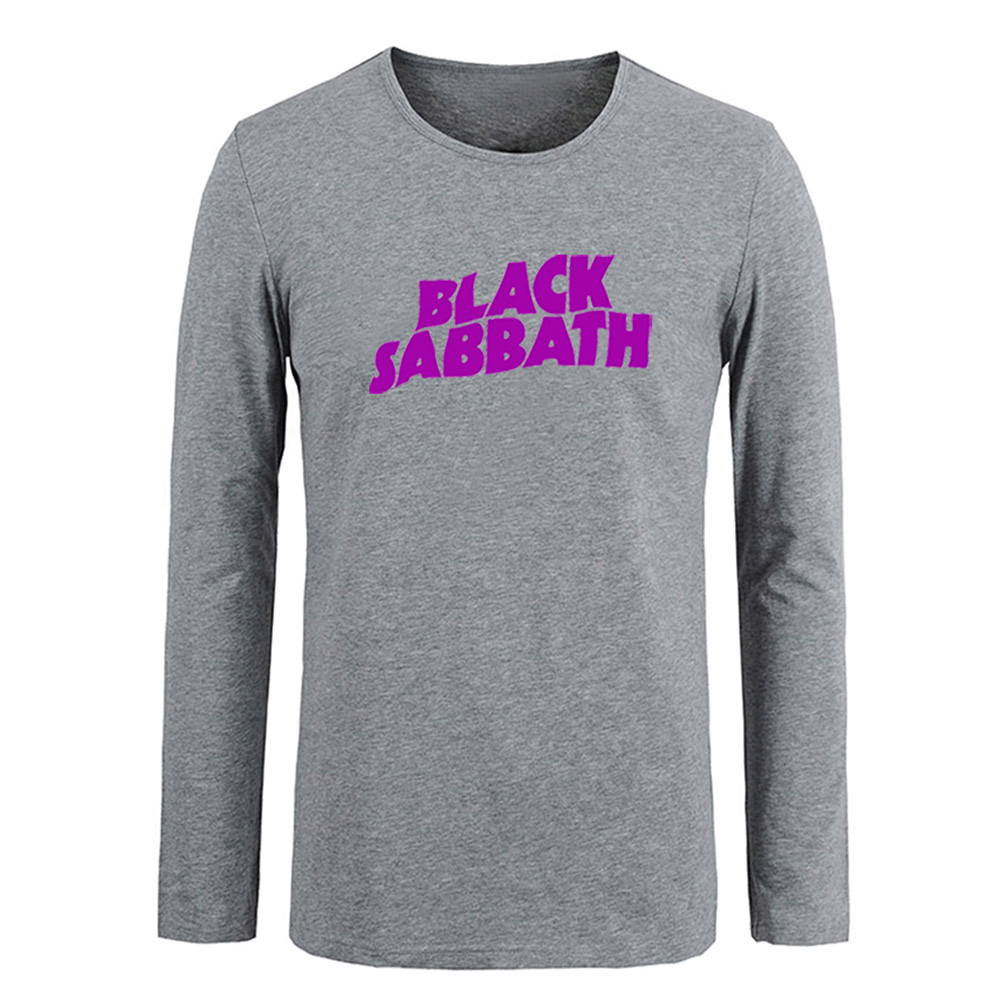 Black sabbath t shirt avengers - Black Sabbath Avengers Men Customized Cotton Long Sleeve Tops Tees For Boy Casual Clothing Anime Cosplay